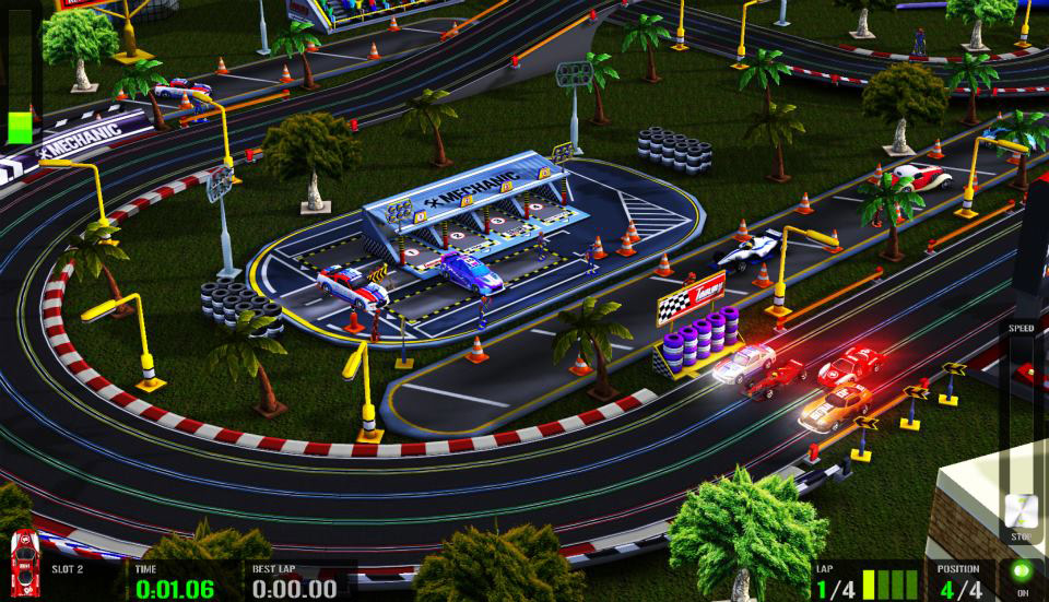 HTR plus - the best slot car simulator ever by QUBYte